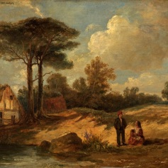 01 - Thomas Luny - River Scene