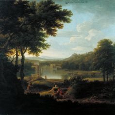 06 - George Lambert - Classical Landscape