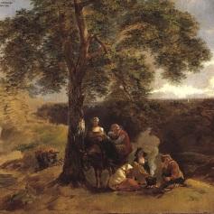 08 - Thomas Gainsborough - Landscape with Gipsies