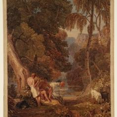 10 - Joshua Cristall - Arcadian Landscape