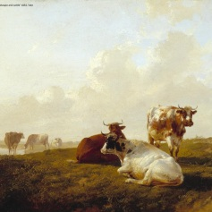 11 - Thomas Sidney Cooper - Landscape and Cattle